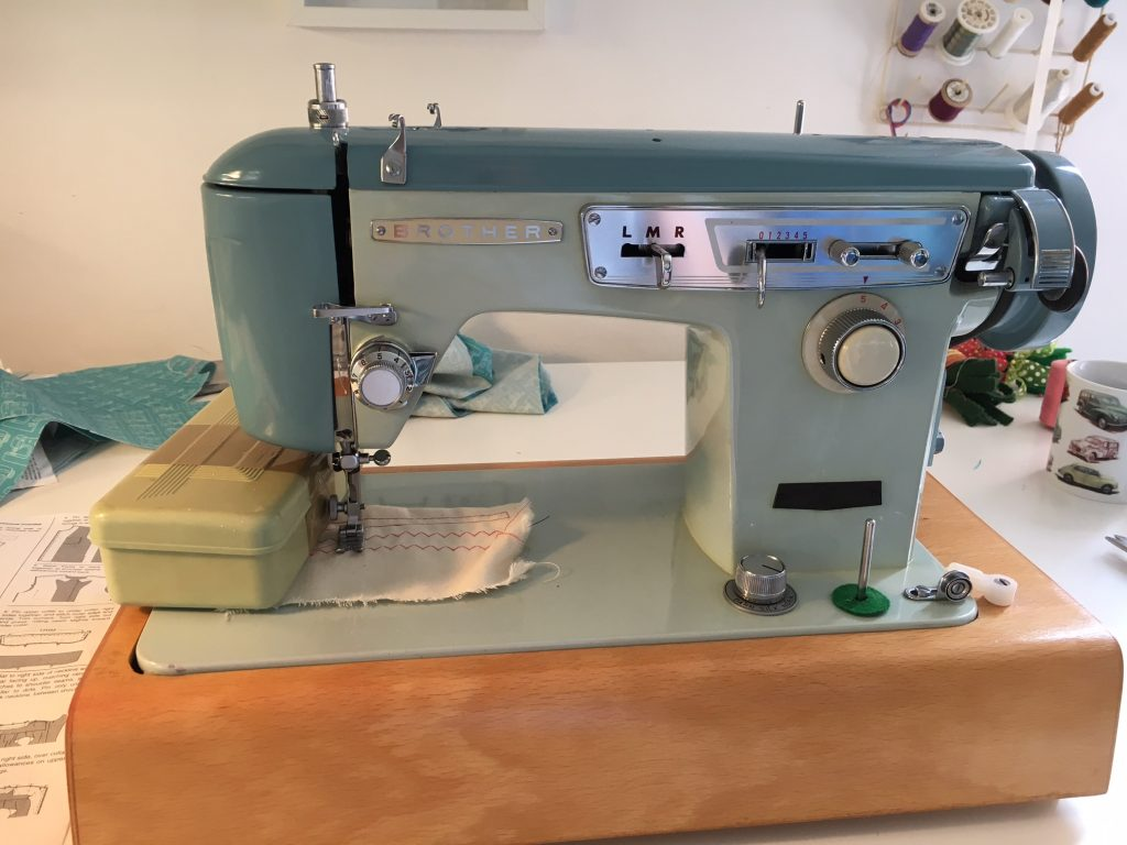 Brother vintage sewing machine