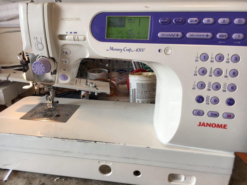 Janome memory craft 6500