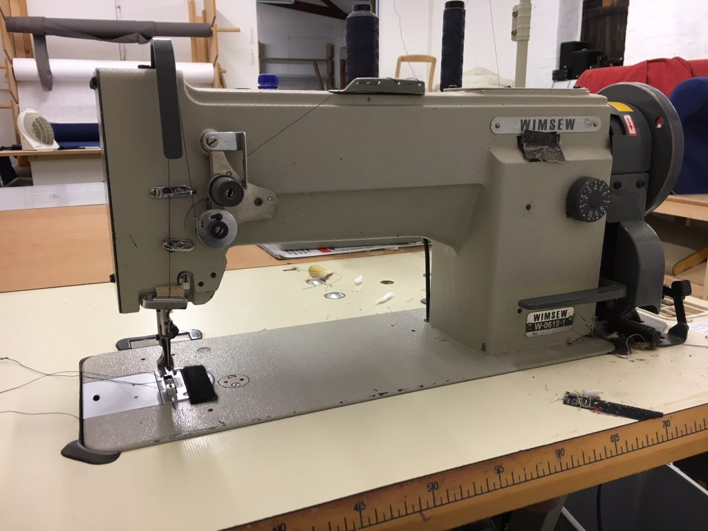 Upholstery machine service in Suffolk